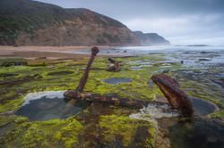 Anchor on Wreck Beach.