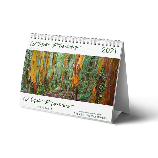 2021 Wild Places Desktop Calendar