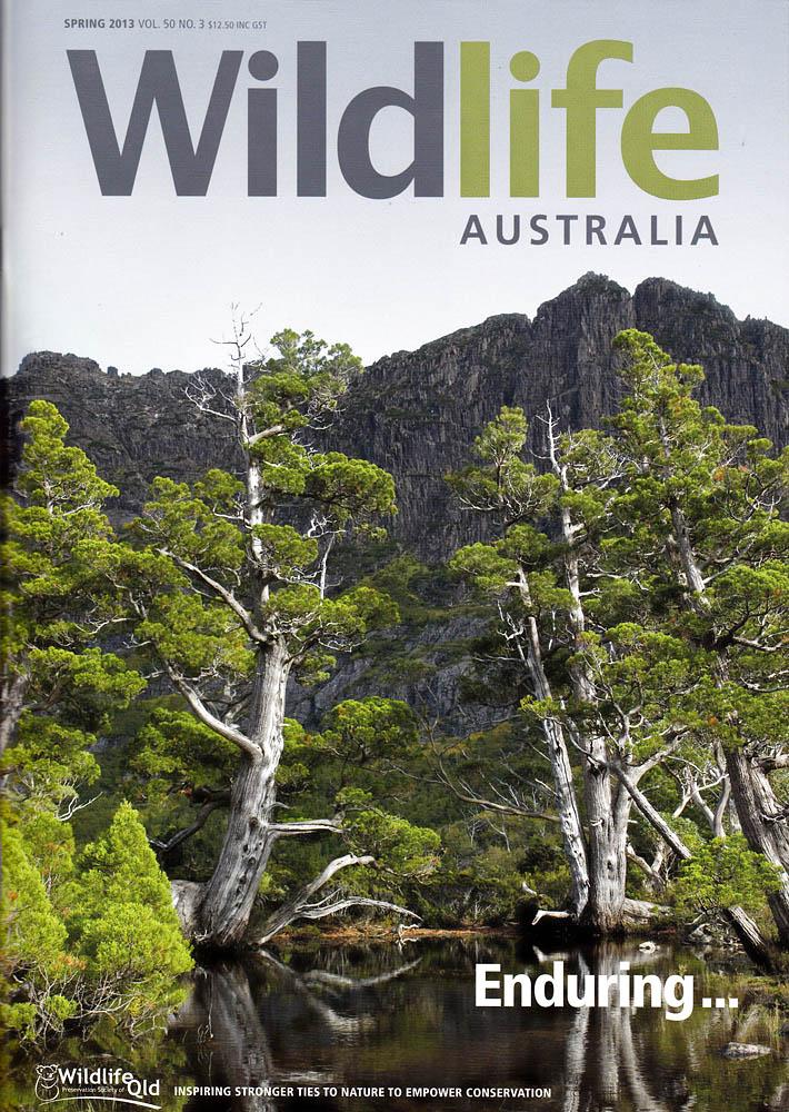 Wildlife Australia mag front cover