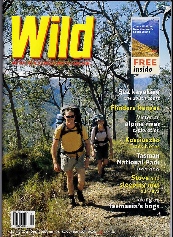 Wild magazine front cover