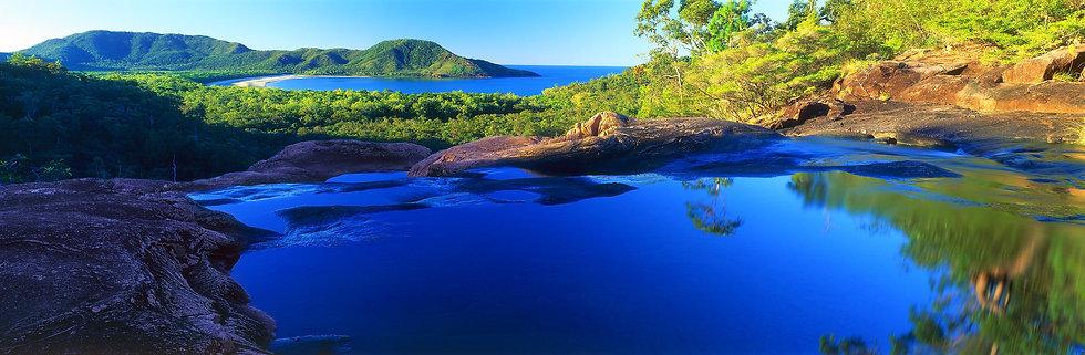 Prints | Seascapes | Hincinbrook Island - Zoe Falls