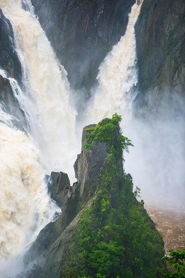 Prints   Waterfalls   Din Din, Barron Falls.