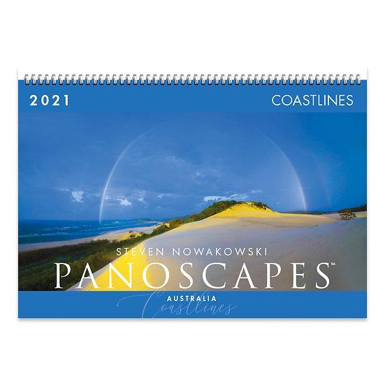 2021 Coastlines Wall Calendar