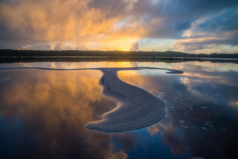 Prints | Lakes & Rivers | Lake Boomanjin # 2