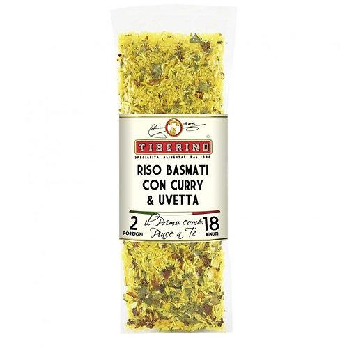 TIBERINO - Riso Basmati con curry e uvetta 200g