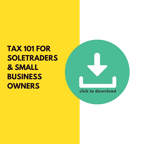 Tax 101 for sole traders and small business owners