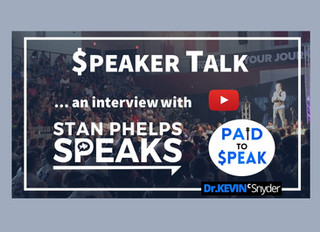 """$peaker Talk"" interview with Stan Phelps, CSP"