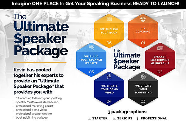 Kevin Snyder Ultimate Speaker Package.jp