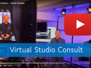 [Virtual Studio Consults Available]  Setting up your virtual studio  🔥