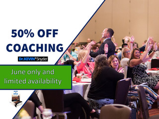 Discounted coaching opportunity |  June only  🔥