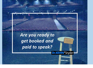 Are you really ready? Here are 4 ways to improve your speaking and get booked and paid to speak