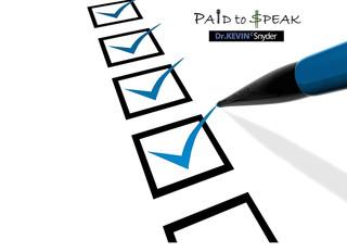 """[FREE DOWNLOAD] """"Speaking Business Checklist"""""""