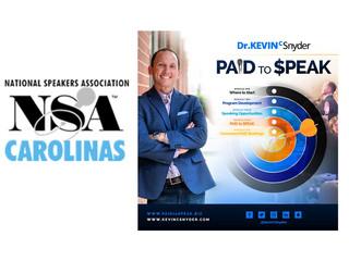 [Speakers Academy Invitation] NSA Carolinas has selected PAID to $PEAK  - join me!