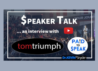 """$peaker Talk"" with Tom Triumph 