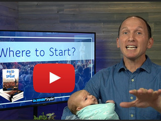 """[Video]  Part 1:  """"Where to start"""" in becoming a professional speaker"""