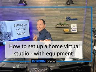 "[NEW TUTORIAL VIDEO]  ""How to setup a Home Virtual Studio"""