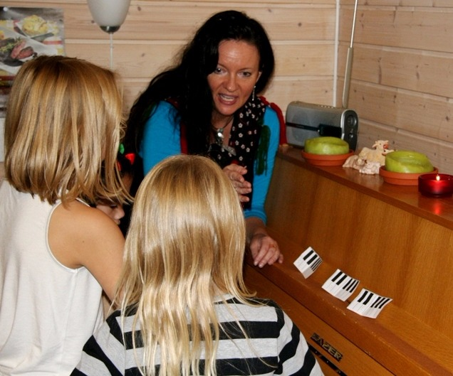 Pianogrupper for barn 6-8 år.