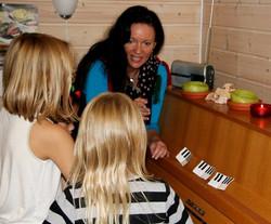 Pianogrupper for barn 6-8 år.