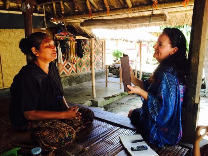 Sangskatter samles på Lombok