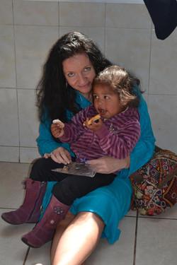 På barnehjem i Mexico