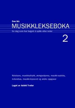 Den blå musikklekseboken 2.