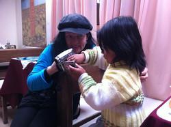 Bolivia -  leker med kameraet