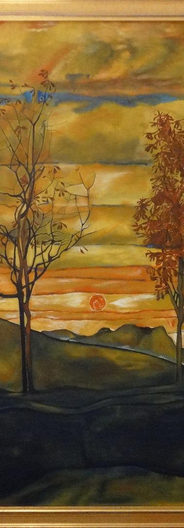 Kopie E.Schiele - vier Bäume-