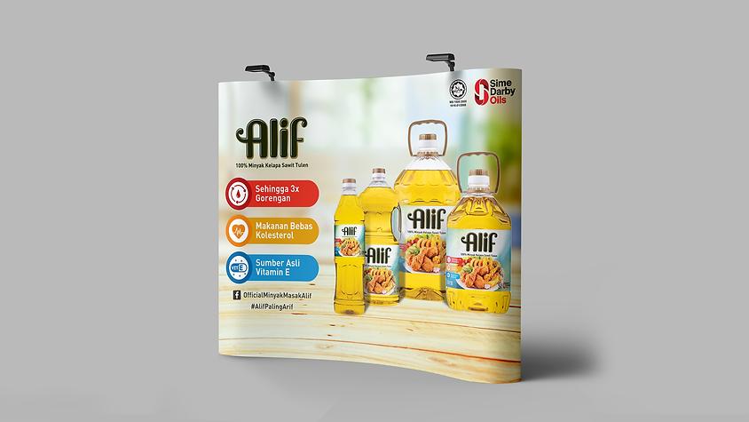 ALIF Jom Heboh Backdrop Design Adaptatio