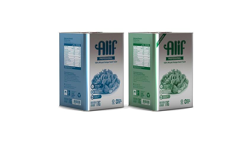 ALIF Professional Premium 17 kg Label De