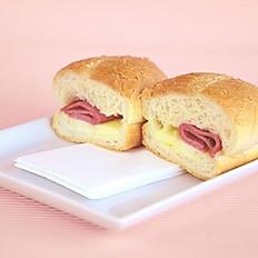 Sandwich maison rond