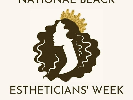 Supporting Black Estheticians!