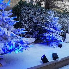 Décor de neige Noël Winamax®
