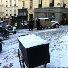 Flocage neige artificielle tournage