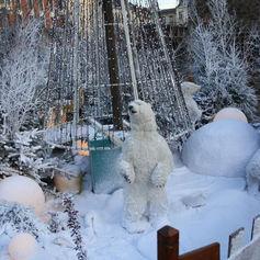 Décor de Noël Béthune 2011