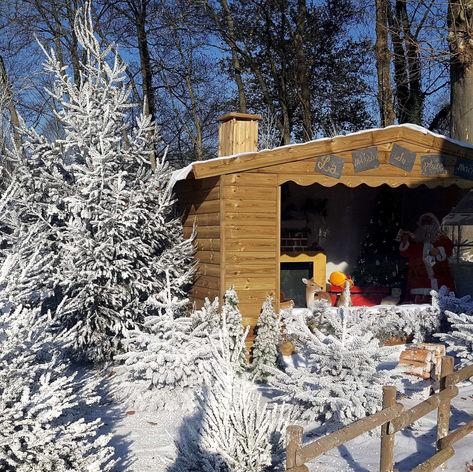 Maison du Père-Noël - Décor Pyrofolie's 2018