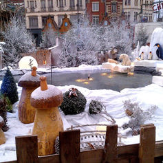 Décor de neige Ville de Béthune