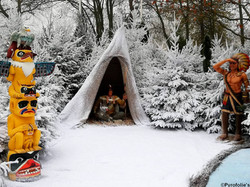 Enneigement végétation et sol avec neige artificielle Regular Snow