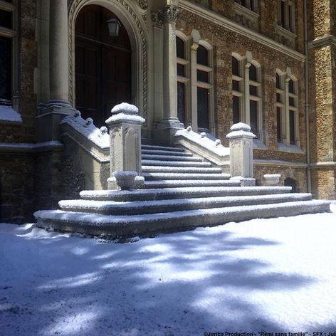 Neige artificielle Regular Snow tournage extérieur