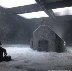 Neige artificielle Regular Snow tournage intérieur