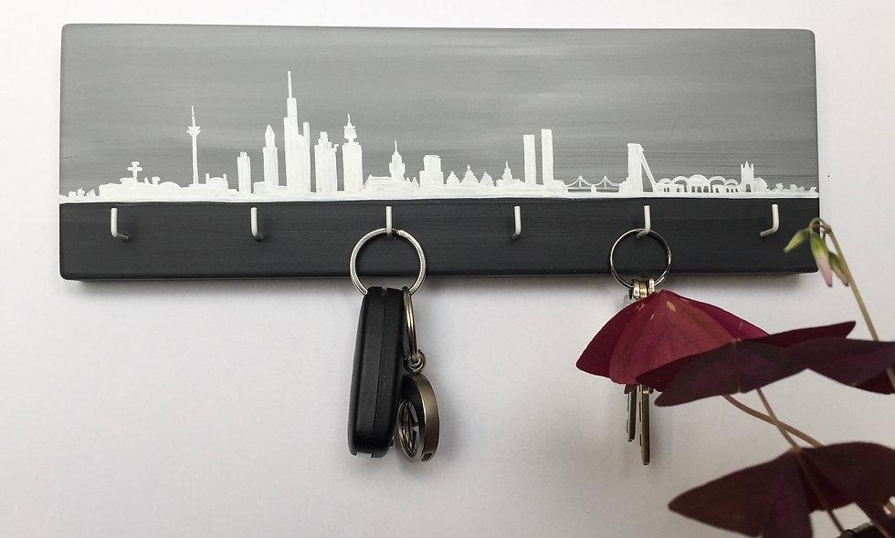 Schlüsselbrett Skyline Frankfurt Main