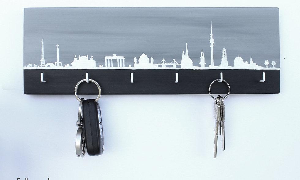 Schlüsselbrett Skyline Berlin