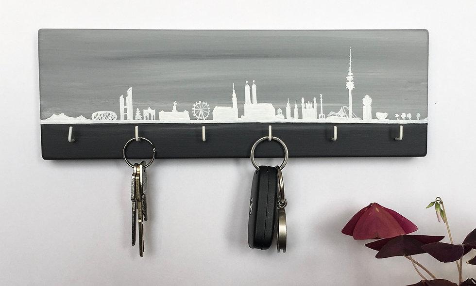 Schlüsselbrett Skyline München