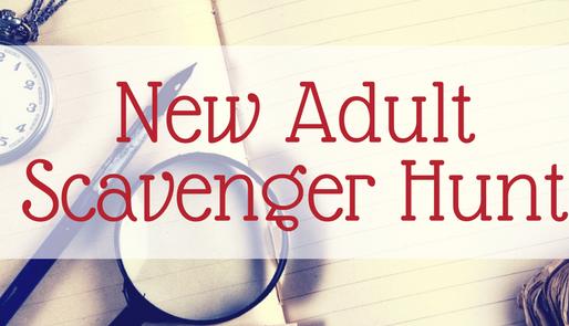 #NewAsh New Adult Scavenger Hunt