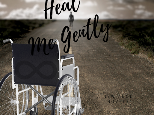 New cover for Heal Me Gently