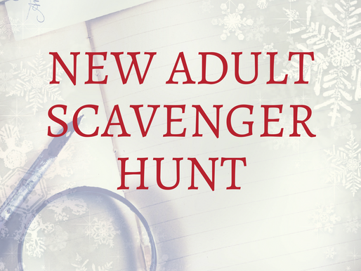 #NewASH Participate in the New Adult Scavenger Hunt for great prizes!