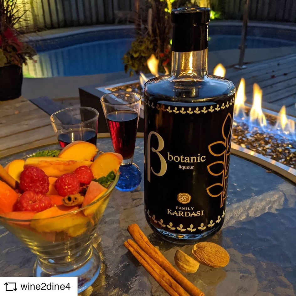 @WINE2DINE4 | Kardasi Botanic Liqueur