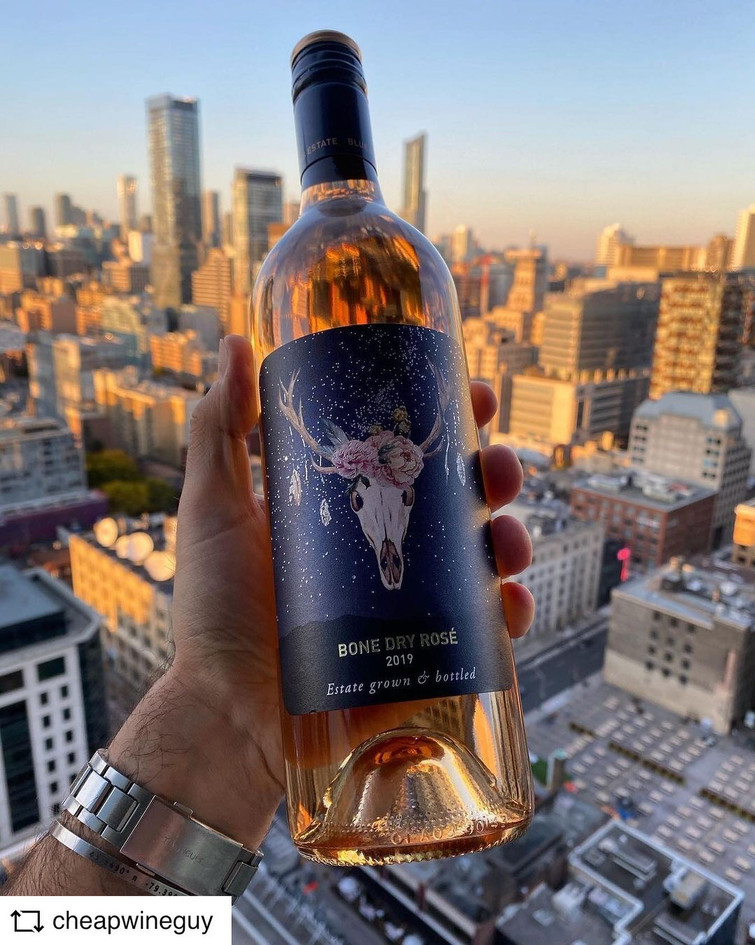 @CHEAPWINEGUY | Bone Dry Rose