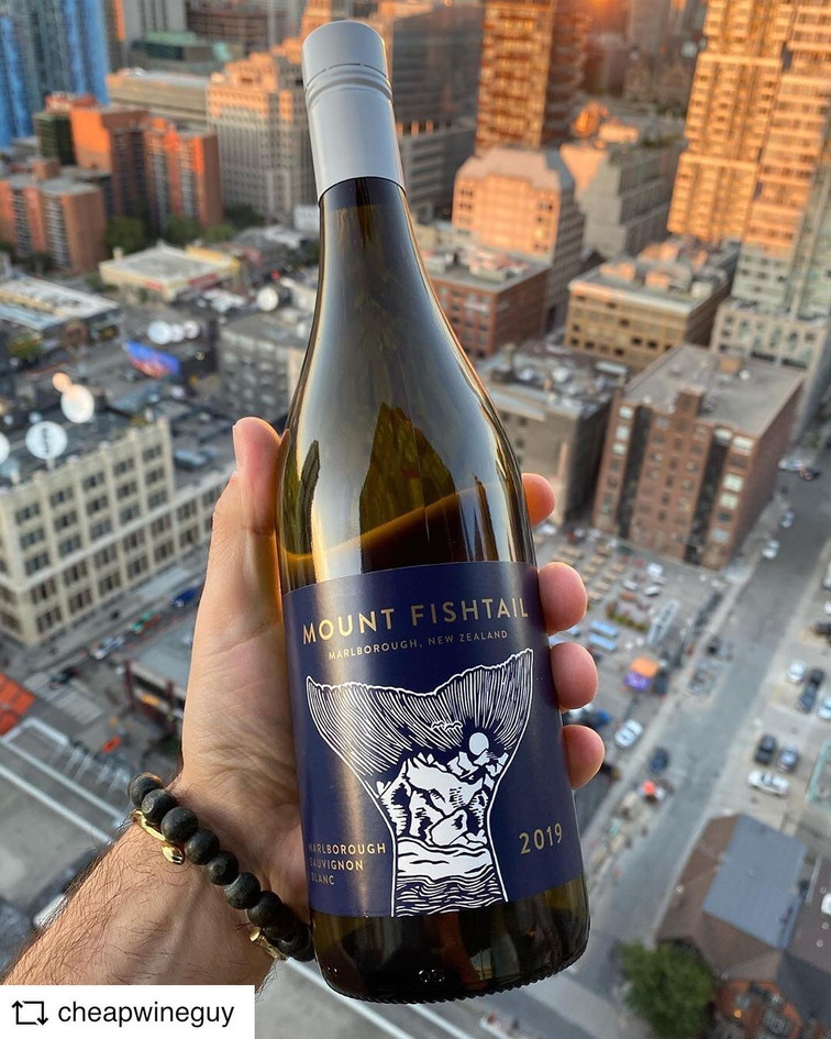 @CHEAPWINEGUY | Mount Fishtail Sauvignon Blanc