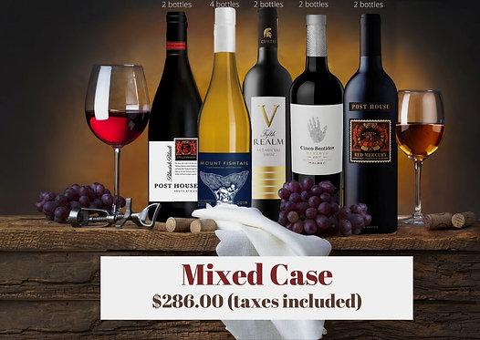New World Wines | Mixed Case | 1 case (12 bottles)