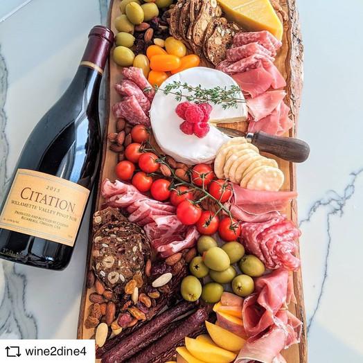 @WINE2DINE4 | Citation Willamette Valley Pinot Noir